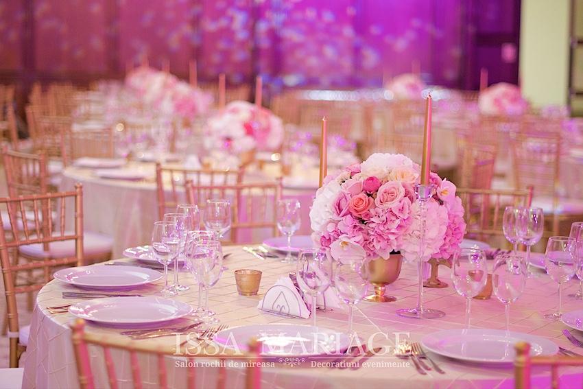 Decoratiuni si aranjamente de nunta speciale restaurant