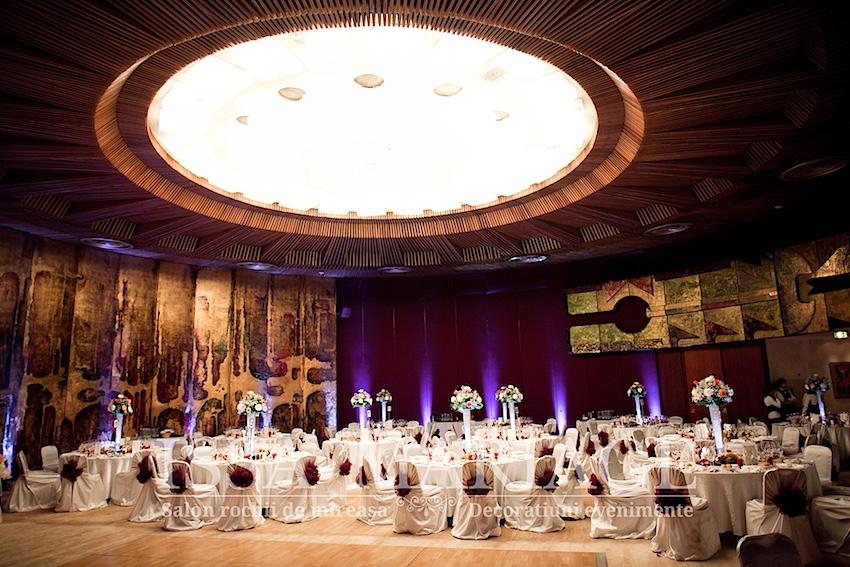 Decoratiuni Si Aranjamente Nunta Intercontinental Bucuresti