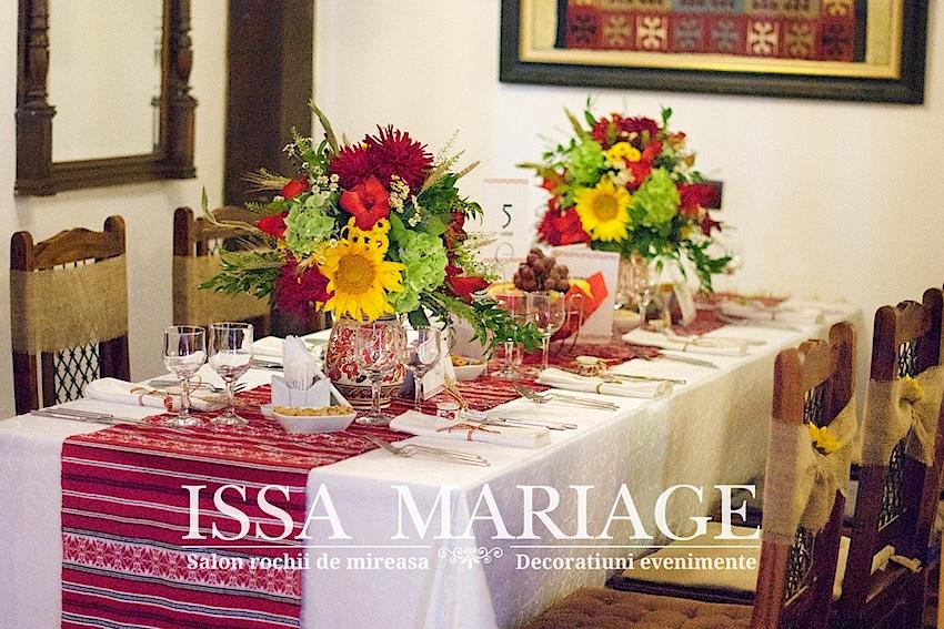 Decor nunta traditionala bucuresti restaurant la cocosul rosu