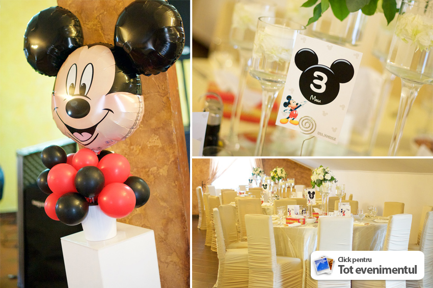 decor botez tematic mickey mouse damici valcea issaevents