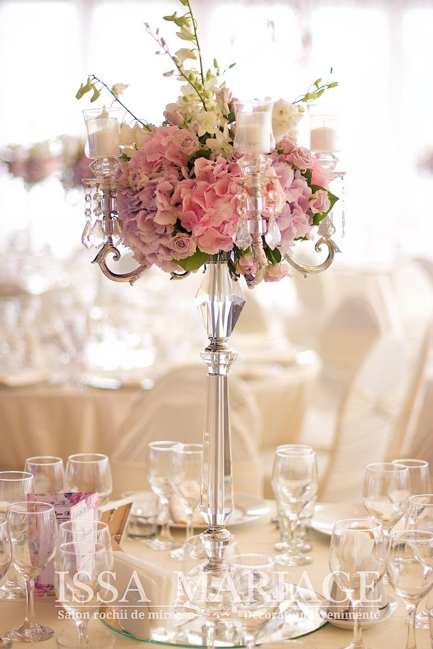 Aranjamente Florale Din Hortensia Si Decoratiuni Issa La Ok Ballroom