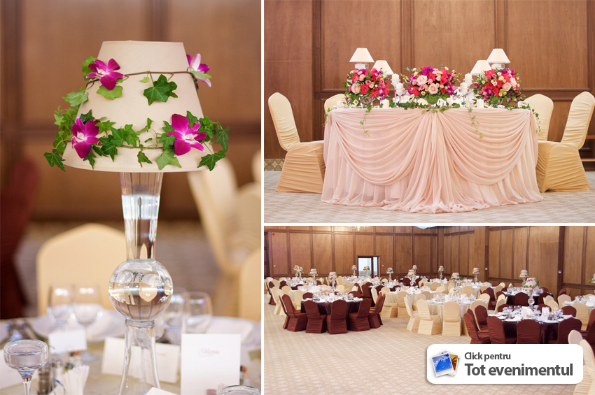 O nunta speciala pentru pereche la restaurant